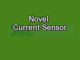 Novel Current Sensor