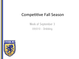 Competitive Fall