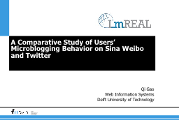 A Comparative Study of Users'