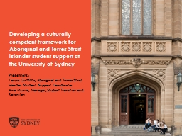 Developing a culturally competent framework for Aboriginal