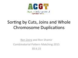 Sorting by Cuts, Joins and Whole Chromosome Duplications