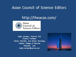 Asian Council of Science