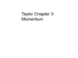 1 Taylor Chapter 3: