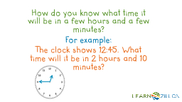How do you know what time it will be in a few hours and a f PowerPoint PPT Presentation