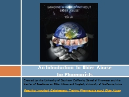 Created by: the University of Southern California, School o PowerPoint PPT Presentation