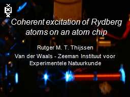 Coherent excitation of Rydberg atoms on an atom chip