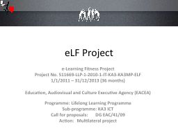 eLF Project