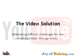 The Video Solution