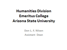Humanities Division
