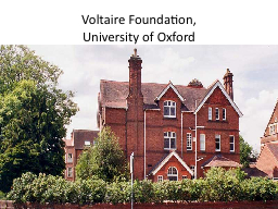 Voltaire Foundation,