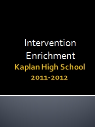Kaplan High School
