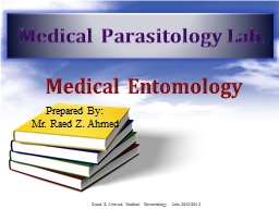 Medical Entomology PowerPoint Presentation, PPT - DocSlides