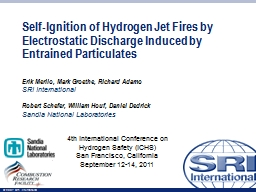Self-Ignition of Hydrogen Jet Fires by Electrostatic Discha