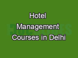Forex management courses in delhi