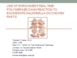 Use of Enrichment Real Time-Polymerase Chain Reaction to En