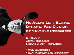 No Agent Left Behind: