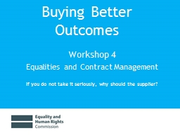 Buying Better Outcomes
