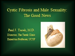 Cystic Fibrosis and Male Sexuality: