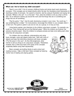 Number  Super Duper Handy Handouts Basic concepts are words that depict location i