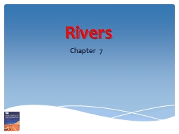 Rivers PowerPoint PPT Presentation
