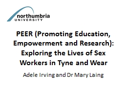 PEER (Promoting Education, Empowerment and Research):