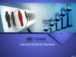 JOB ASSISTANCE & TRAINING PowerPoint PPT Presentation
