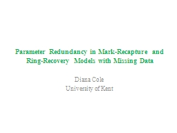 Parameter Redundancy in Mark-Recapture and Ring-Recovery Mo