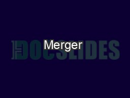 Merger & Acquisition PowerPoint PPT Presentation