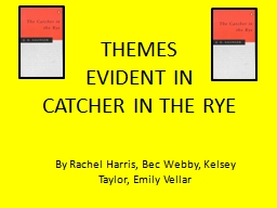 the catcher in the rye analysis essay
