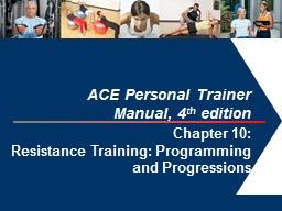 1 ACE Personal Trainer