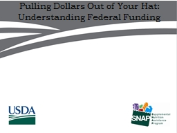 Pulling Dollars Out of Your Hat: Understanding Federal Fund