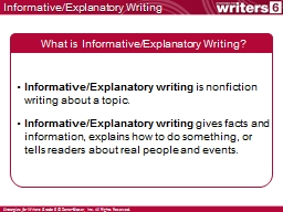 topics for an informative essay