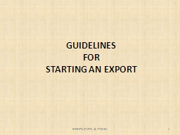 GUIDELINES PowerPoint PPT Presentation