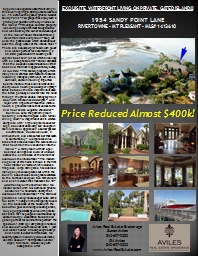 EXQUISITE WATERFRONT LIVING ON PRIVATE, GATED ISLAND!!!