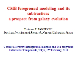 CMB foreground modeling and its subtraction: