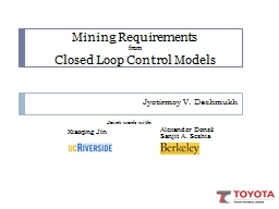 Mining Requirements