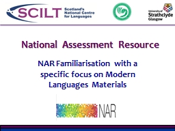 National Assessment Resource