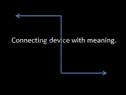 Connecting device with meaning. PowerPoint PPT Presentation