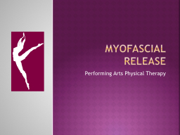 MYOFASCiaL RELEASE PowerPoint PPT Presentation