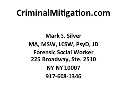 CriminalMitigation.com