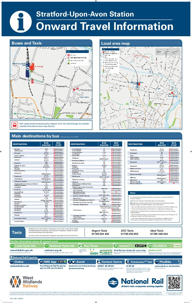 Local area map Buses and Taxis Text the relevant code for your bus stop to  and  PDF document - DocSlides