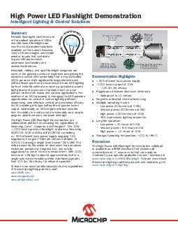 High Power LED Flashlight System Diagram* Magnetic selector ring desig PowerPoint PPT Presentation