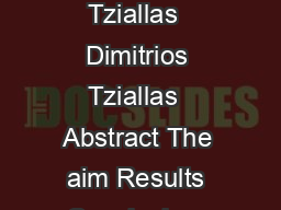 Support of family afterwards fr om Infarction of Myocardium Vasilios Tziallas  Dimitrios Tziallas  Abstract The aim Results Conclusion  keywords Corresponding author  Introduction      Methods Result