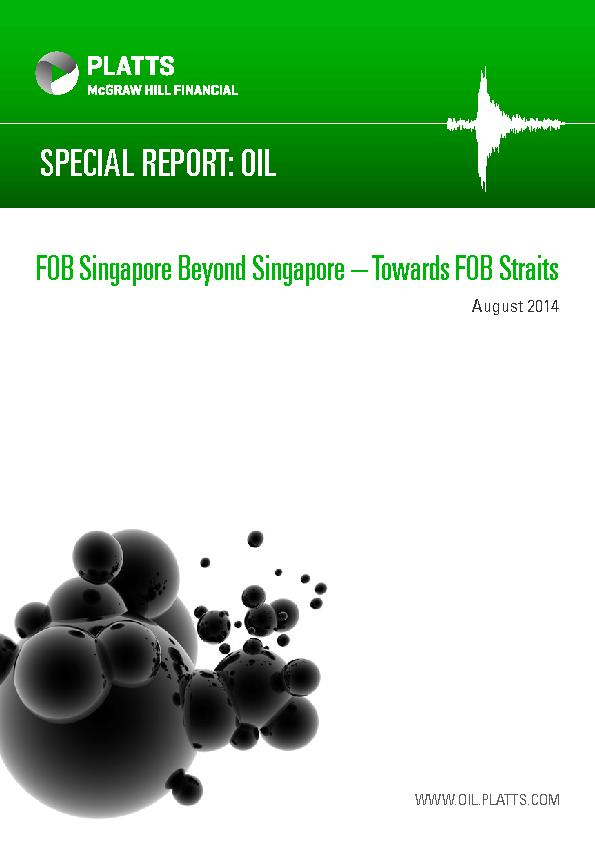 FOB Singapore Beyond Singapore – Towards FOB Straits