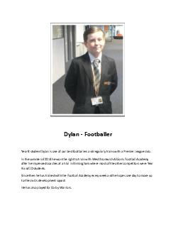 Year 8 student
