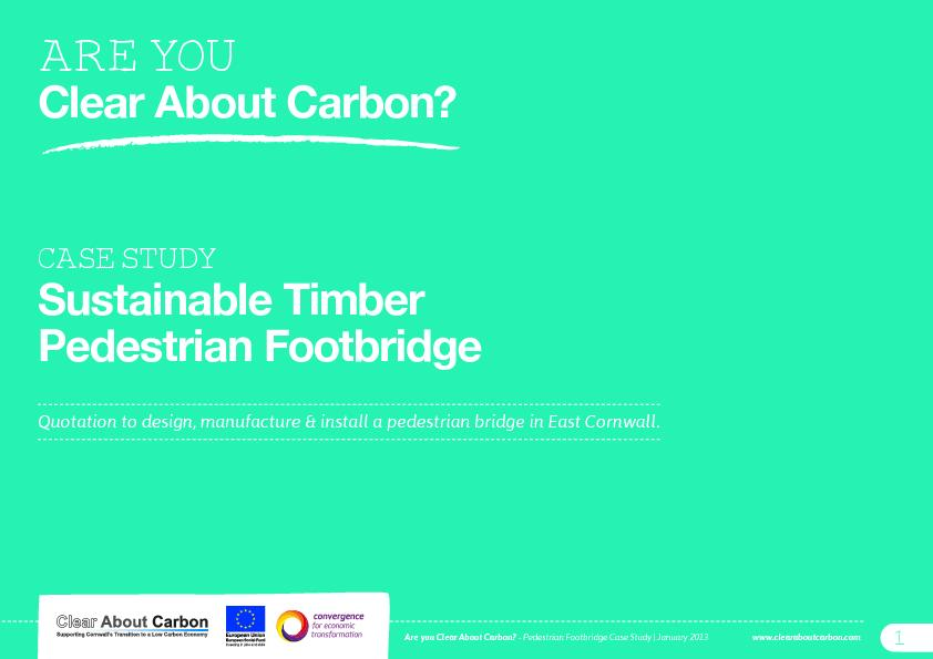 Clear About Carbon?