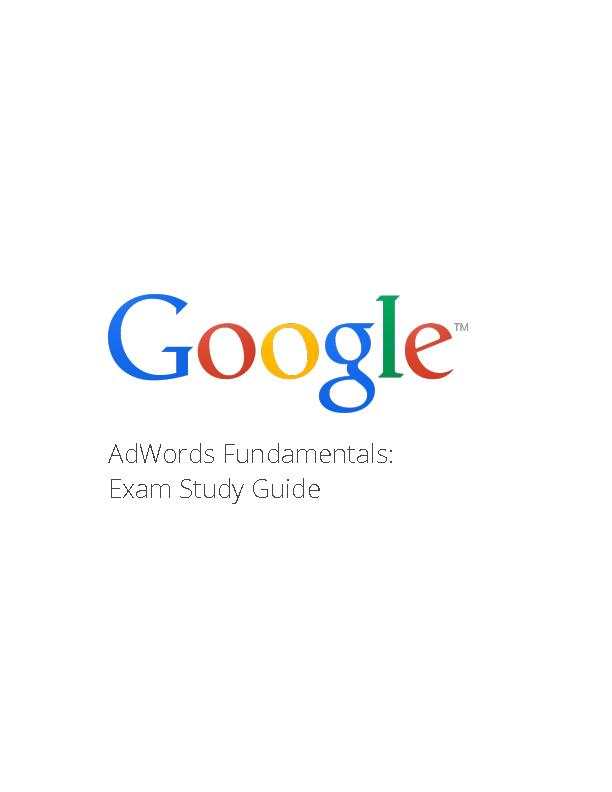 Benefits of Google AdWords What is AdWords?  An introduction to AdWor