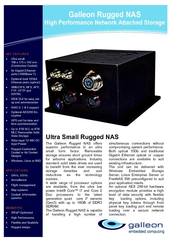 Galleon Rugged NAS