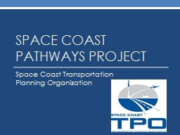 Space coast Pathways project