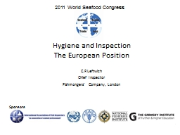 Hygiene and Inspection